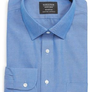 Nordstrom - Men's French Blue Button Down